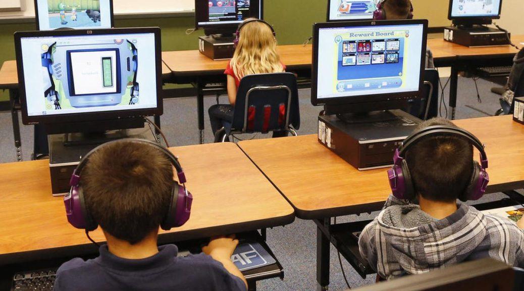 компьютер на уроке